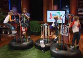 Jungle Jumparoo on Shark Tank