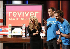 Reviver Swipes Shark Tank