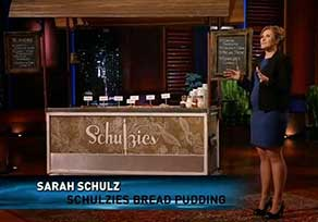 Schulzies Bread Pudding Shark Tank