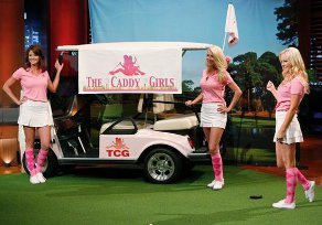The Caddy Girls on Shark Tank